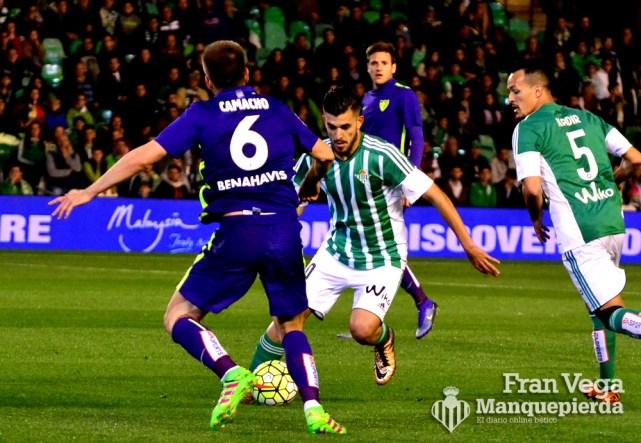 Ceballos volvió como titular (Betis-Malaga 15-16)
