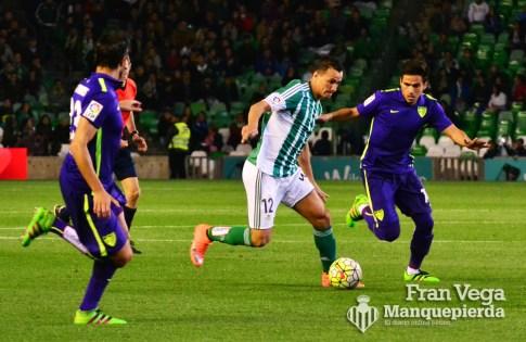 Damiao entre rivales (Betis-Malaga 15-16)