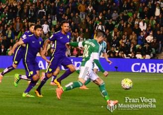 Ruben Castro tuvo tres claras (Betis-Malaga 15-16)