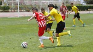 Almería B - Sevilla Atco. Foto: udalmeriasad.com