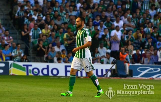 Westermann expusado (Betis-Barcelona 15/16)