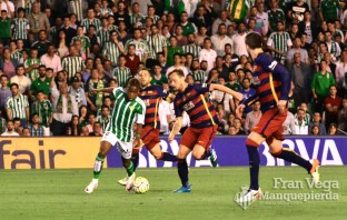 Musonda entró en la segunda parte (Betis-Barcelona 15/16)