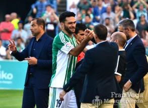 Despedida de Molina, saudando a Merino