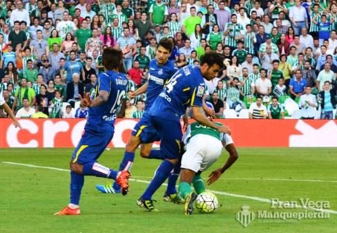 Penalti a Musonda (Betis-Getafe 15/16)