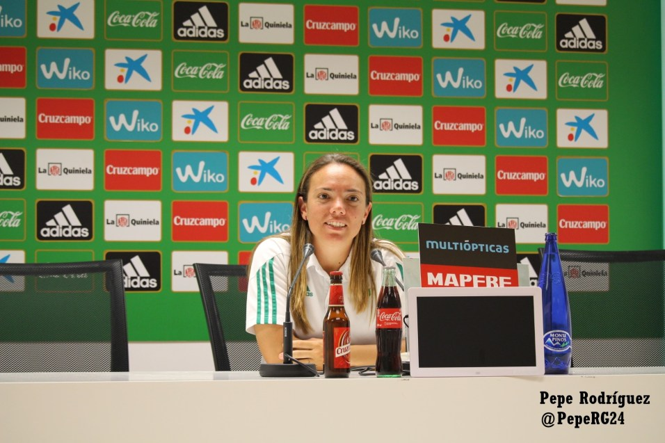 Rueda de prensa. Real Betis Féminas 4-0 EDF Logroño