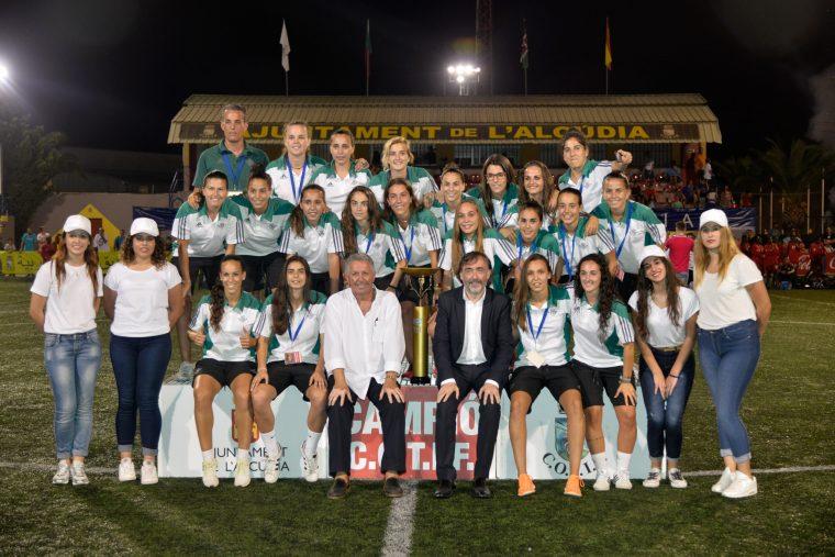 Real Betis Féminas, campeón del COTIF