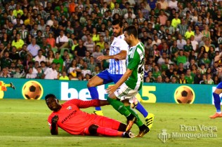 Cerca de marcar Ruben (Betis-Málaga 16/17)