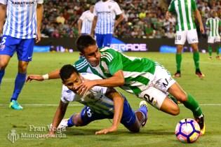 Rafa Navarro debuta (Betis-Málaga 16/17)