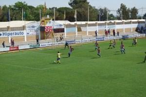 Coria CF 1-1 Algeciras. Foto: Coriacf.es