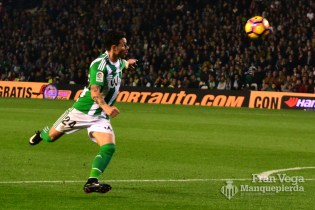 Remate de Ruben Castro (Betis-Athletic 16/17)