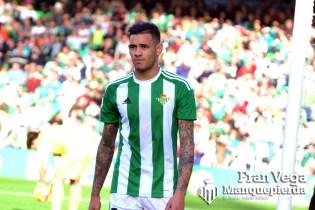 Sanabria se marcha lesionado (Betis-Leganes 16/17)