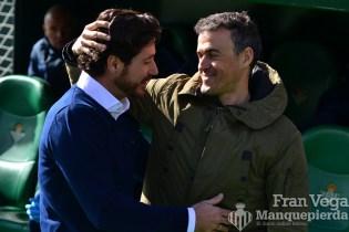 Victor y Luis Enrique (Betis-Barca 16/17)
