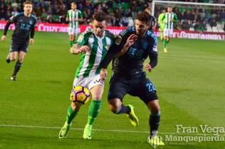 Ruben volvio a la titularidad (Betis-R.Sociedad 16/17)