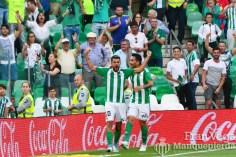 Ceballos celebra su tanto (Betis-Eibar 16/17)