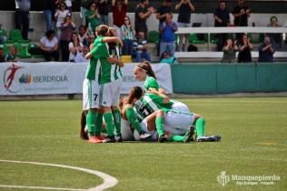 Real Betis Féminas 1-0 Real Sociedad. Imagen: Pepe Rodríguez