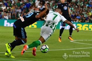 Falta no señalada a Sergio (Betis-Celta 17/18)