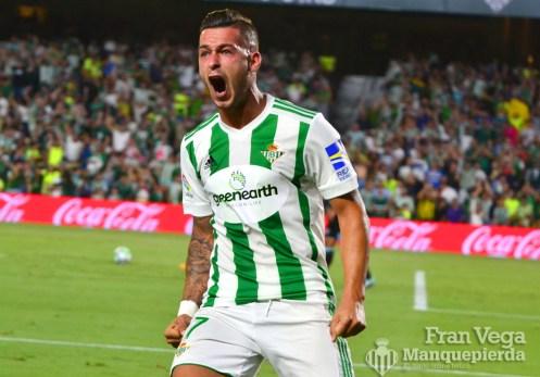 Sergio empató el partido (Betis-Celta 17/18)
