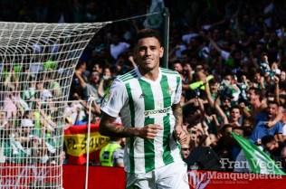 Sexto gol de Sanabria (Betis-Alaves 17-18)