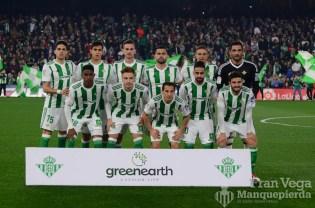 Alineación (Betis-Madrid 17-18)