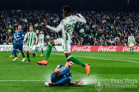 Junior y Nacho(Betis-Madrid 17-18)