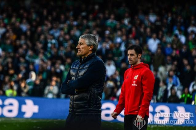 Quique preocupado (Betis-Villarreal 17-18)