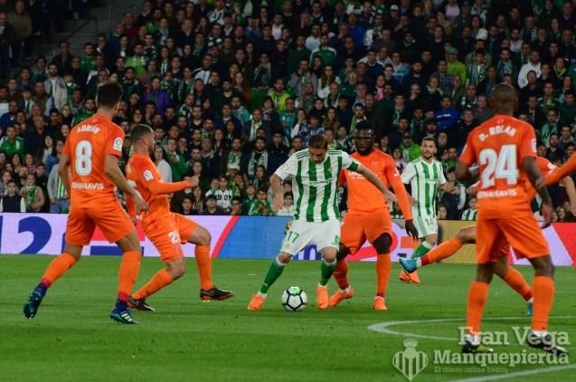 Joaquín a lo Iniesta (Betis-Malaga 17-18)