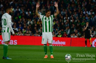 Jugada ensayada Joaquín (Betis-Malaga 17-18)