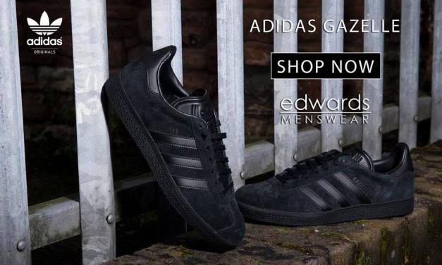 adidas Triple Black Gazelle – Now reduced by 20%