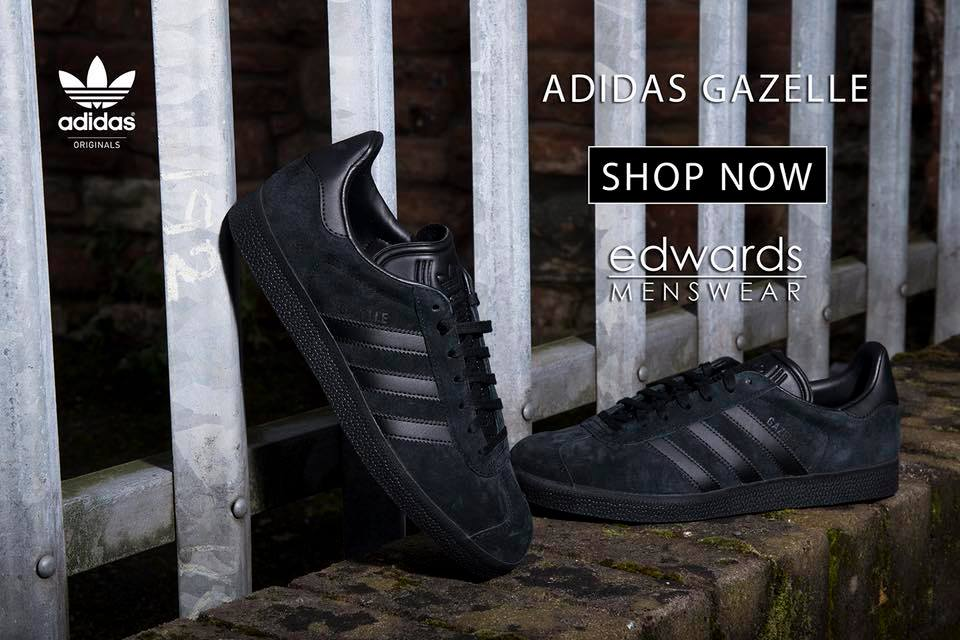 premium selection 174bb 1b2c1 adidas Triple Black Gazelle – Now reduced by 20%