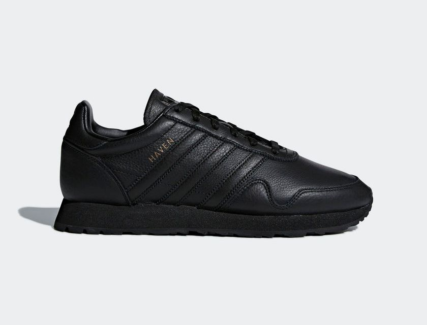 adidas Originals Haven – Core Black / Core Black Leather