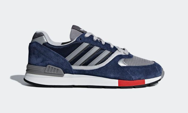 adidas Quesence – Navy Blue / Grey / Red