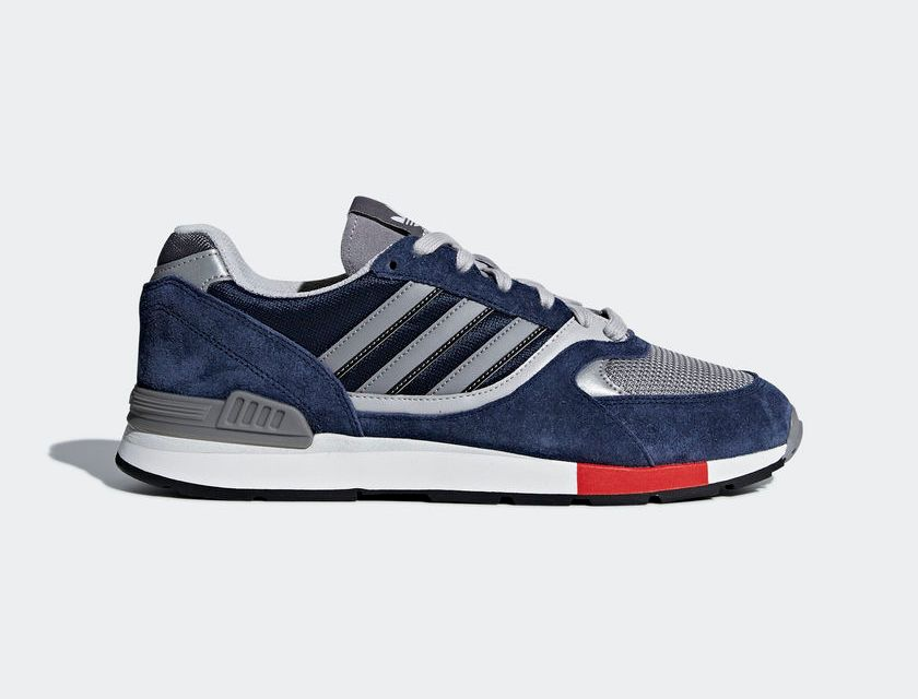 Bergantín me quejo teléfono  adidas Quesence - Navy Blue / Grey / Red | Man Savings