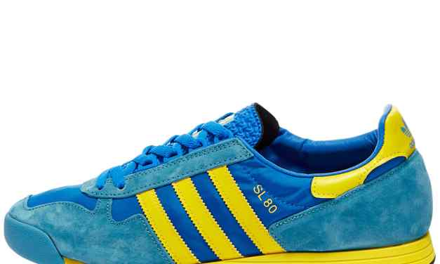 adidas SL 80 – Blue and Yellow