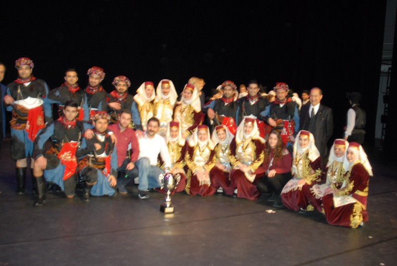 Tuğra Halk Dansları Yarışmanın Galibi