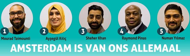 DENK, Amsterdam'da adaylarını belirledi