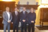 Hollanda Türk Federasyon'un belediye ziyaretleri devam ediyor