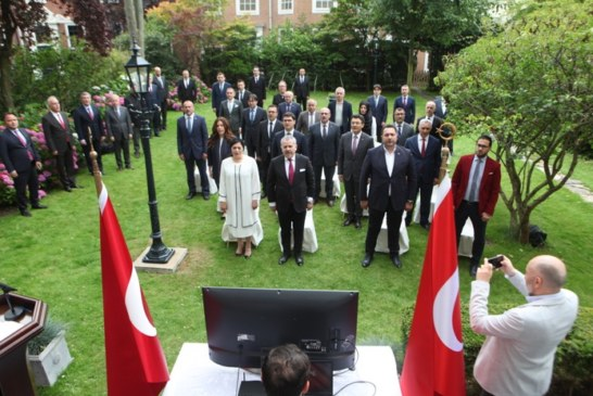 Lahey'de 15 Temmuz Demokrasi ve Milli Birlik Günü Düzenlendi