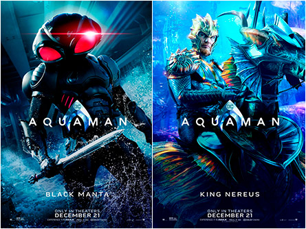Black Manta/King Nereus