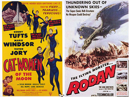 Cat-Women of the Moon / Rodan