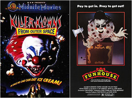 Killer Klowns / The Funhouse