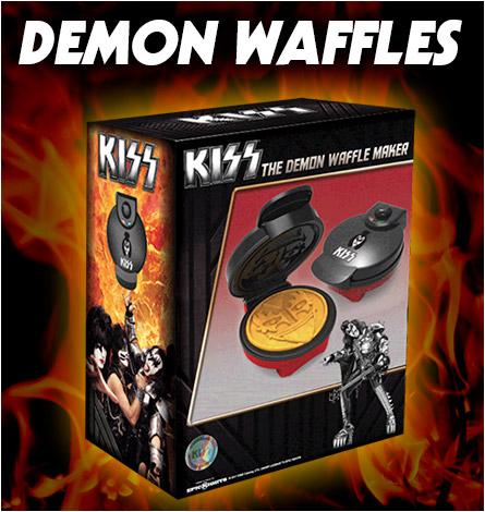 KISS: The Demon Waffle Maker