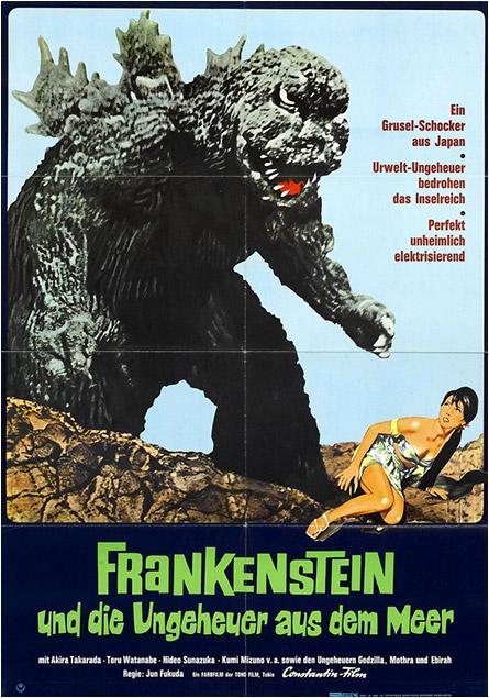 Frankenstein und die Ungeheuer as dem Meer