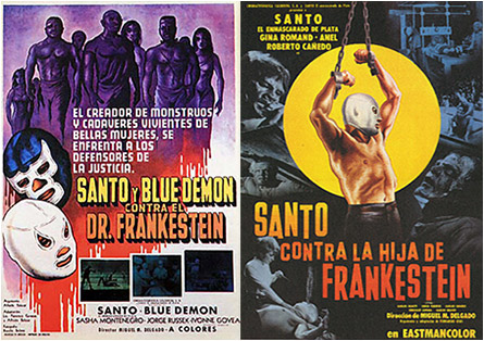 Santo and Frankenstein