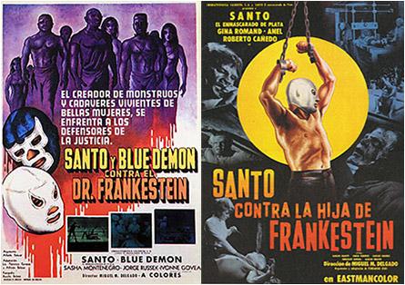 Santo and Frankenstein