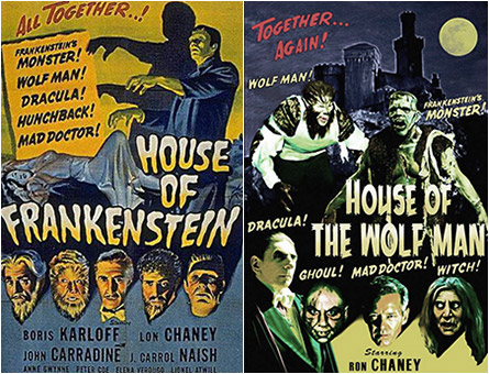 House of Frankenstein / House of the Wolf Man