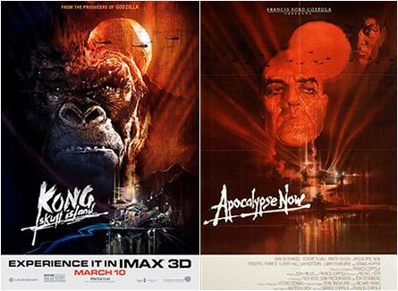 Kong: Skull Island / Apocalypse Now