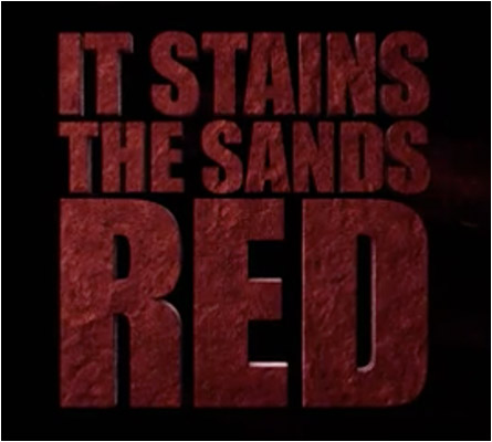 It Stains Sands Red