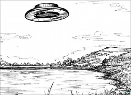 UFO Drawings From The National Archives