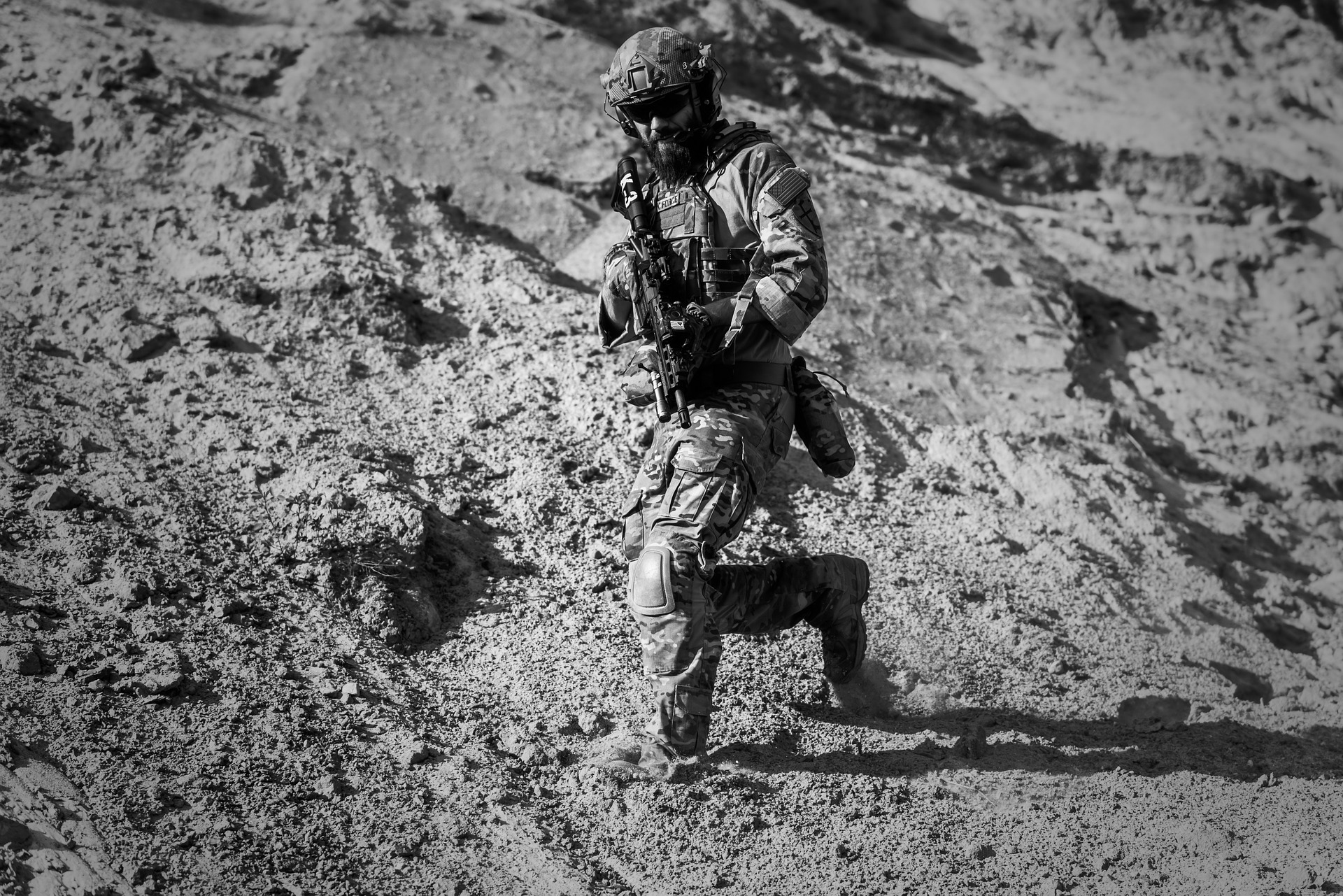 The war inside my head – as a soldier.