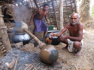 People across central India use the same distillation technique their forefathers practised ages ago